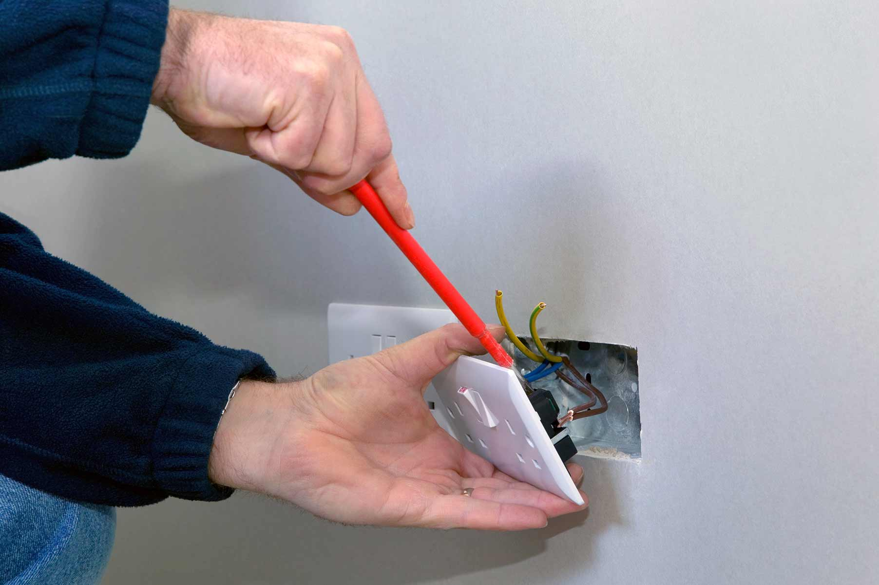 Our electricians can install plug sockets for domestic and commercial proeprties in Northolt and the local area.